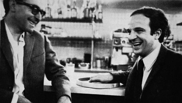 Truffaut a Godard ve filmu Dva ve vlně